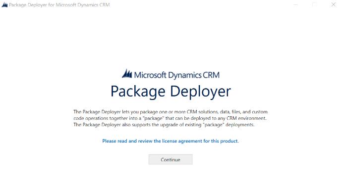 Package Deployer Login